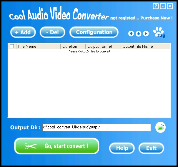 Cool Audio Video Converter Screenshot 1