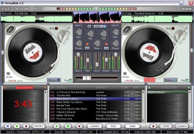 VIRTUAL DJ PROPHET - TURNTABLE STUDIO Screenshot 2