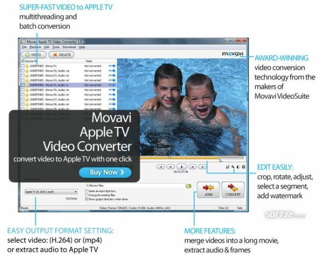 Movavi Apple TV Video Converter Screenshot 3
