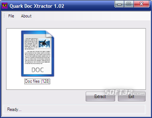 Quark Doc Xtractor Screenshot