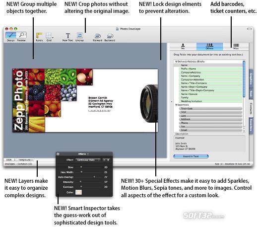 SOHO Labels Screenshot