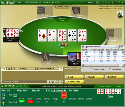 Poker Indicator Screenshot 1