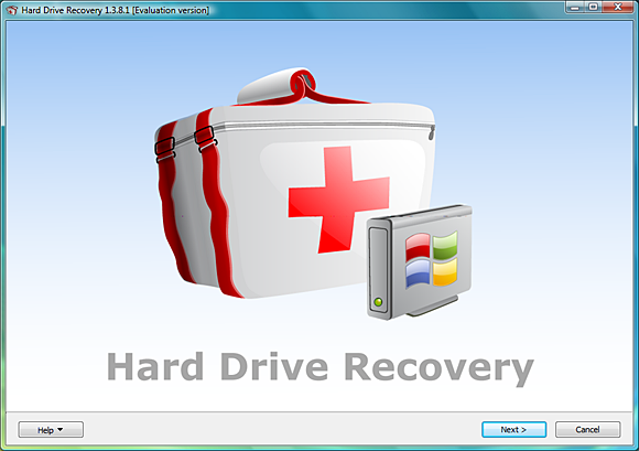 Mareew Hard Drive Recovery Screenshot