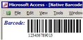 MS Access Barcode Integration Kit 3