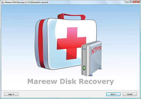 Mareew Disk Recovery Screenshot