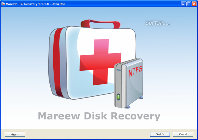 Mareew Disk Recovery Screenshot 2
