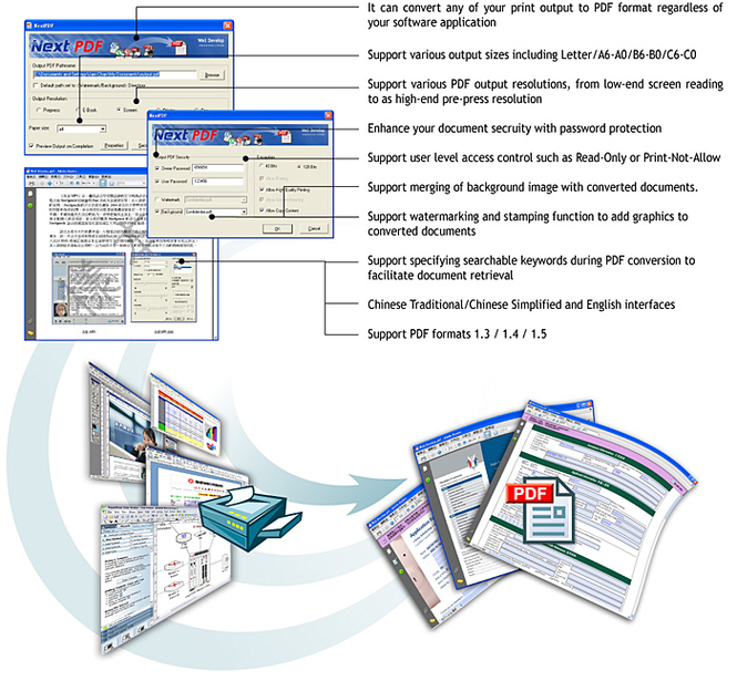 NextPDF Professional Screenshot 1