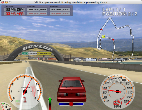 VDrift Screenshot 2