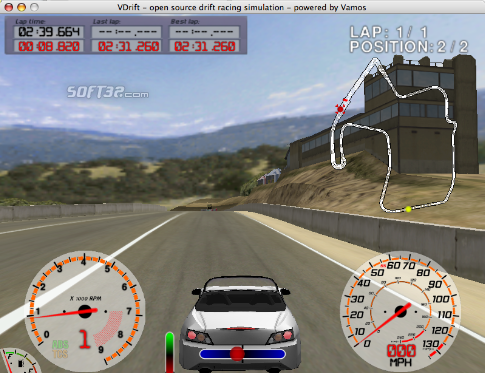 VDrift Screenshot