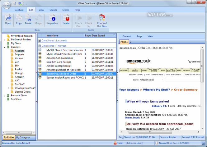 X2Net OneStore Screenshot 1