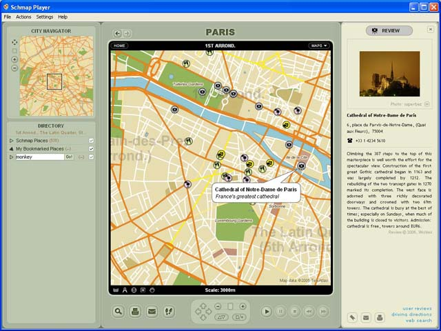 Schmap World for Mac Screenshot 1