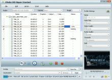 4Media DVD Ripper Standard Screenshot