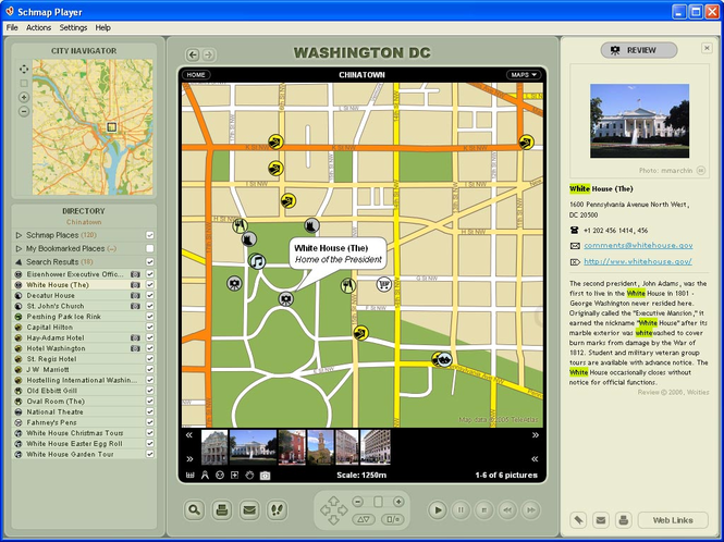 Schmap North America for Mac Screenshot 1