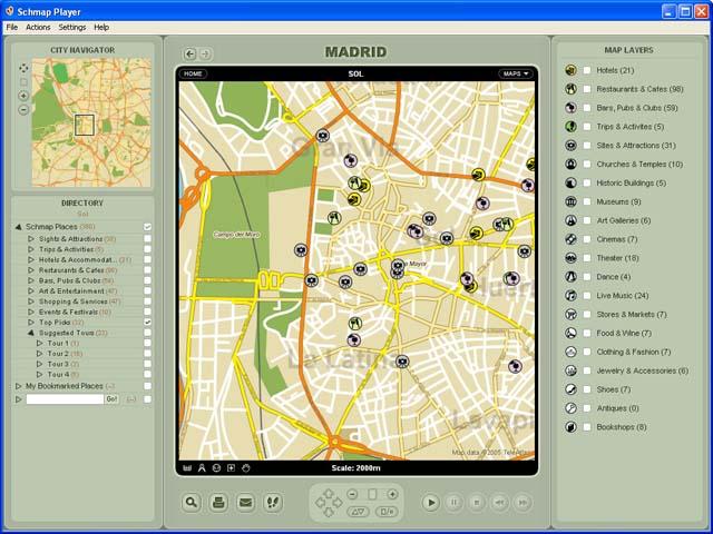 Schmap Europe for Mac Screenshot 1