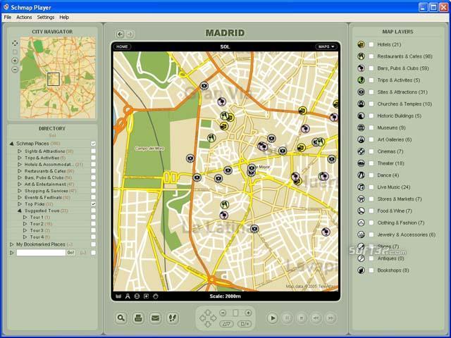 Schmap Europe for Mac Screenshot 3