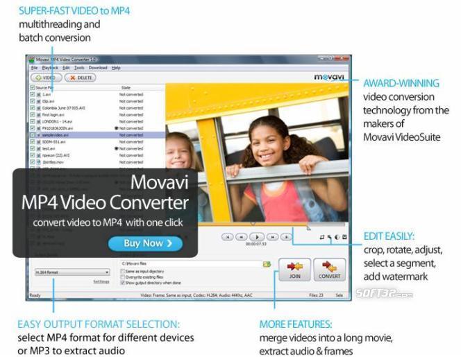 Movavi MP4 Video Converter Screenshot 2