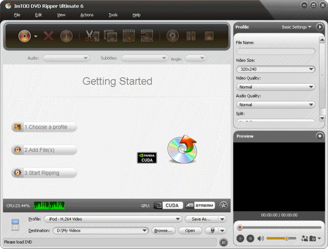 ImTOO DVD Ripper Ultimate Screenshot 3