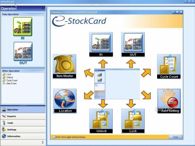Chronos eStockCard Free Edition Screenshot 2
