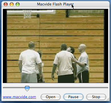 Macvide Flash Player Screenshot