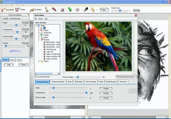 GMX-PhotoPainter Screenshot