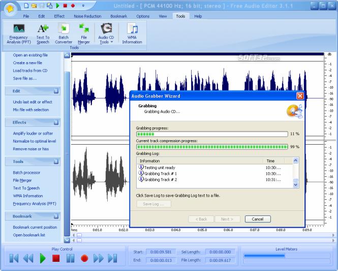 Free Audio Editor 2014 Screenshot 6