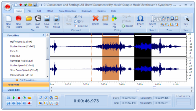 mp3 audio editor 9.0.7 download