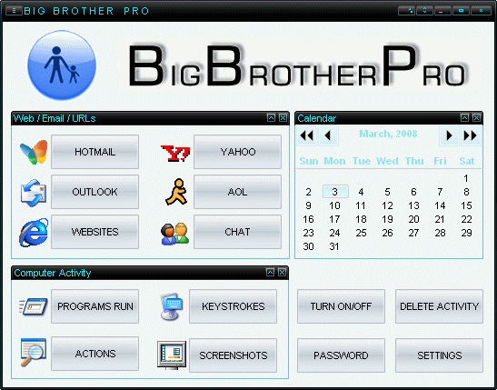 Big Brother Pro Screenshot