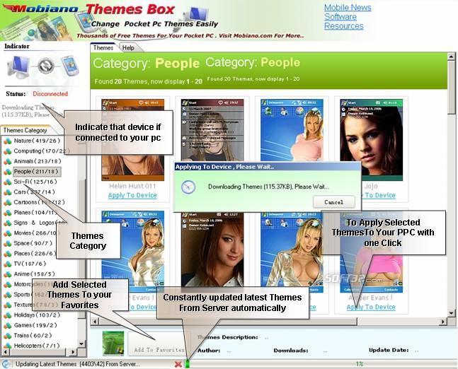 Mobiano Themes Box For PPC Screenshot 2