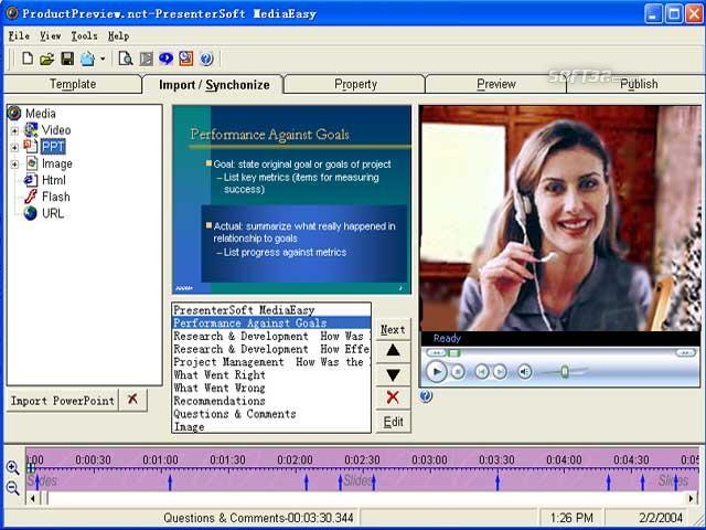 PresenterSoft MediaEasy Screenshot 2