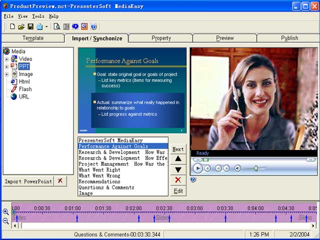 PresenterSoft MediaEasy Screenshot 1