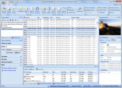 Duplicate File Detective Screenshot