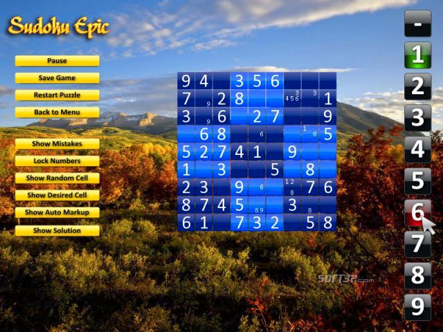 Sudoku Epic (Mac) Screenshot 3