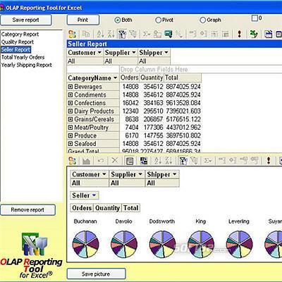 OLAP Reporting Tool for Excel Screenshot 3