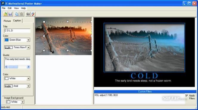 ImageElements Motivational Poster Maker Screenshot 2