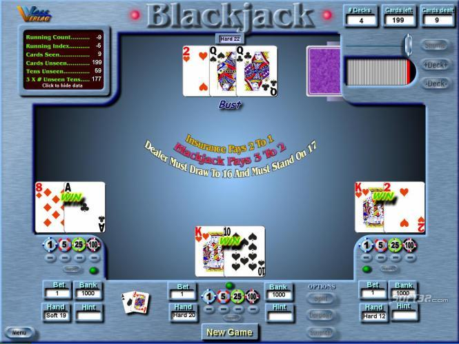 The BlackJack Analyst Screenshot 1