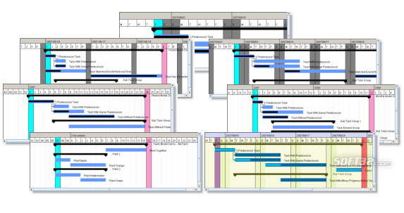 SwiftGantt Screenshot