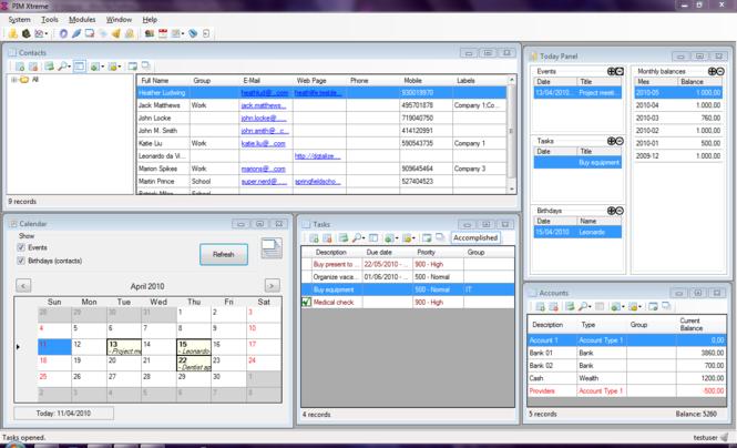 PIM Xtreme Screenshot 1
