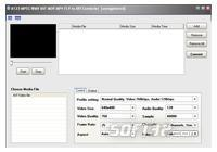 A123 MPEG WMV ASF MOV to AVI Converter Screenshot 2