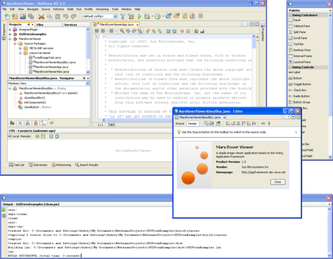 NetBeans Screenshot