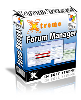 Xtreme Forum Manager Screenshot