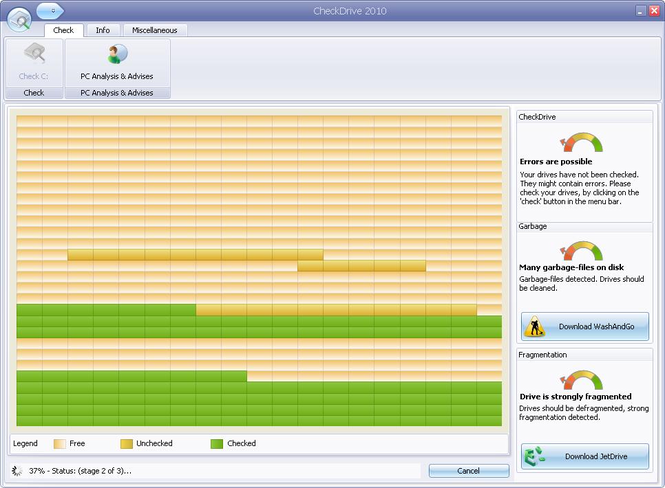 CheckDrive 2010 Screenshot