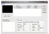 A123 AVI MPEG WMV ASF to iPod Converter Screenshot