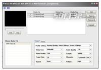 A123 AVI MPEG ASF MOV to WMV Converter Screenshot 2