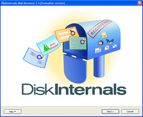 DiskInternals Mail Recovery Screenshot
