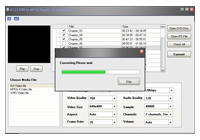 A123 DVD to MPEG Ripper Screenshot