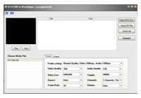 A123 DVD to iPod Ripper Screenshot
