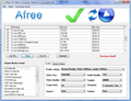 Afree All Video Converter Platinum 1
