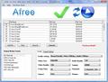 Afree AVI DIVX WMV MOV MPEG Converter 1