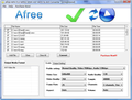 Afree MP4 FLV MPEG WMV to AVI Converter 1