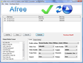 Afree AVI to MP4 FLV MPEG WMV Converter 1